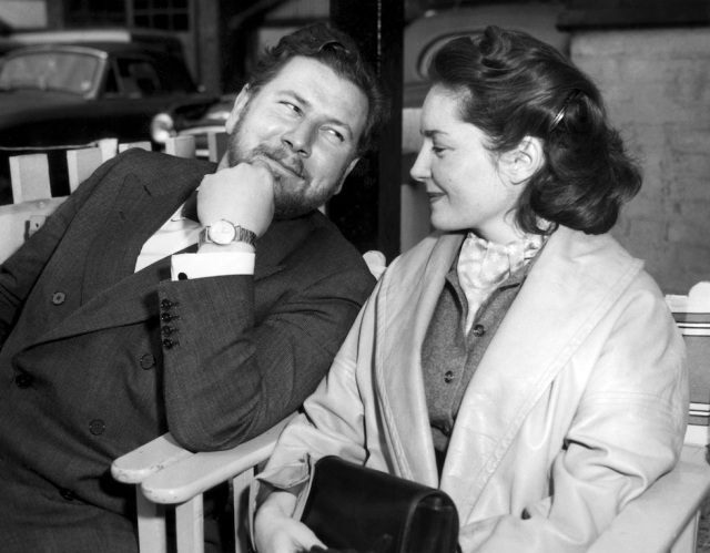 File photo dated 20 June 1956 shows Peter Ustinov,