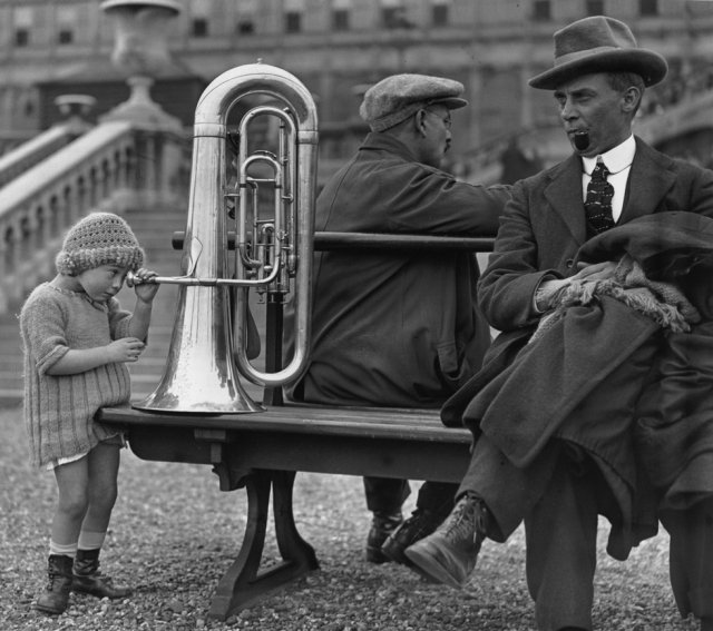 Girl With A Tuba